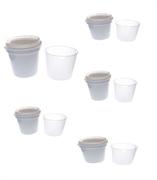 Набор форм для сыра в герметичном стакане, 0,25 л (Coquard), 5 шт