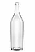 Бутылка стеклянная «Четверть», 3075 мл, прозрачная