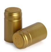 Термоколпачки для бутылок, 28,5х60, золото с т.д. и о.л.