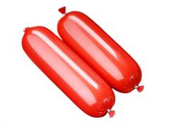 Оболочка колбасная полиамидная Логопак Люкс М ф55 вишневая 10 м