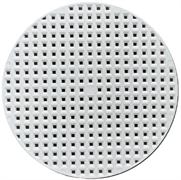 Крышка-вкладыш перфорированная полимерная для подпрессовки d145*3 мм
