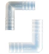 Переходник Г-образный нар. диам 6 мм