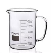 Стакан стеклянный Н-1-2000 мл низкий со шкалой, 2000 мл