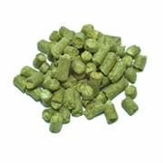 Хмель гранулированный  «Hallertau Hersbrucker» (Халлертау Херсбрукер) А - 3%, 100 грамм