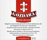 Пивные дрожжи «Gozdawa Belgian Fruit & Spicy Ale (BFSAY)», 10 гр