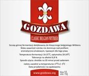 Пивные дрожжи «Gozdawa Classic Belgian Witbier (CBW)», 10 гр