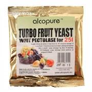 Спиртовые дрожжи для фруктовых браг «Alcopure Turbo Fruit», 40 гр