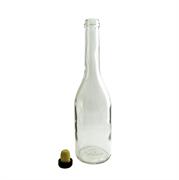 Бутыль водочная 0.5 с пробкой