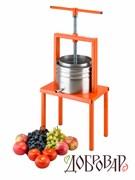 Пресс винный фруктово-ягодный напольный 5 л