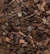 Щепа дубовая, сильный обжиг, кавказский дуб (ДОК) 100 гр
