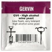 Винные дрожжи «Gervin — GV4 High Alcohol Wine» для крепких вин, 5 гр