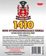 Спиртовые турбо дрожжи «Gozdawa 1410 Turbo», 140 гр
