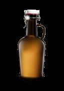 Бутыль 2 литра, темное стекло, бугельная крышка