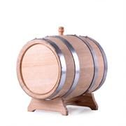 Бочка дубовая, 5 литров (кавказский дуб)