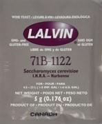 Дрожжи винные Lalvin 71B-1122, 5 грамм