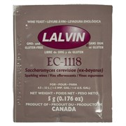 Дрожжи винные Lalvin EC-1118, 5 грамм