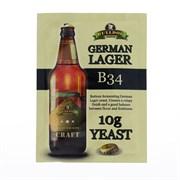 Пивные дрожжи «Bulldog — B34 German Lager», 10 г.