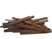 Дубовые сегменты прямоугольной формы 12х1,3х1,3 см сильного обжига, 100 гр