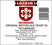 Дрожжи «Gozdawa British Ale Withbread», 10 гр