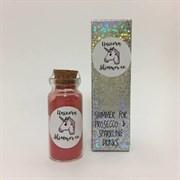 Шиммер (блёстки) для напитков Unicorn - Lovely Red (прекрасный красный)