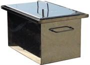 Коптилка из нержавеющей стали с гидрозатвором