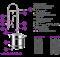Самогонный аппарат «Феникс — Зенит ПРО», 35 литров - фото 10215